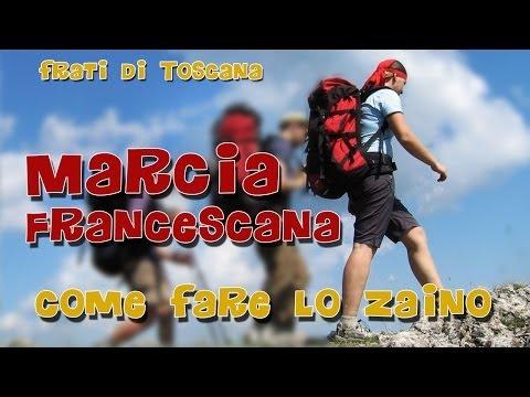 Marcia francescana 2014...lo zaino!