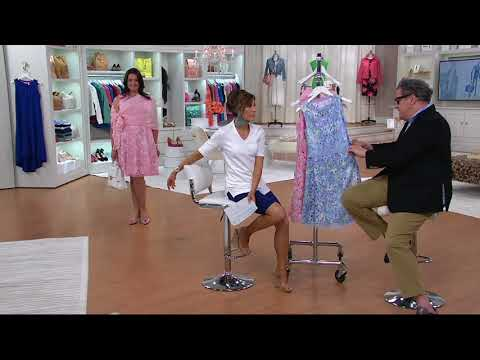 Isaac Mizrahi Live! Special Edition Printed Lace Dress on QVC
