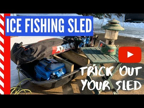 Ice Fishing Sled Modifications Detailed