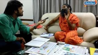International Yoga Day : Technology friendly Ramdev Baba with RJ Harshil