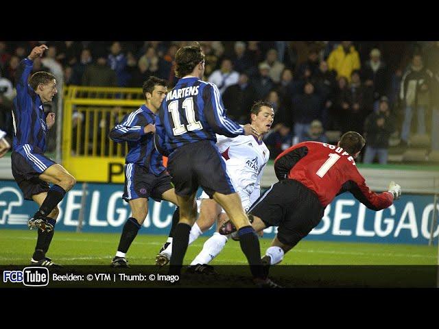 2001-2002 - UEFA-Cup - 07. 8ste Finale - Club Brugge - Olympique Lyon 4-1