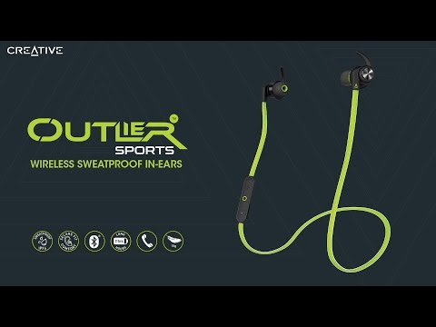 Creative Outlier Sports Wireless Sweat-proof In-Ear Earphones