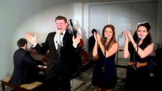 Repeat youtube video Rude - Vintage 1950s Sock Hop - Style MAGIC! Cover ft. Von Smith