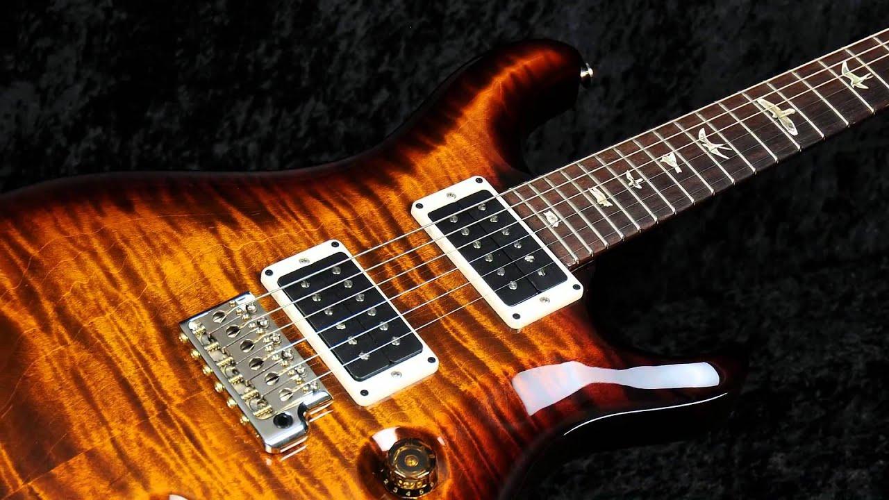 Guitar Hd Wallpapers 1080p 2013 Prs Custom 24 Black Gold Wrap Youtube