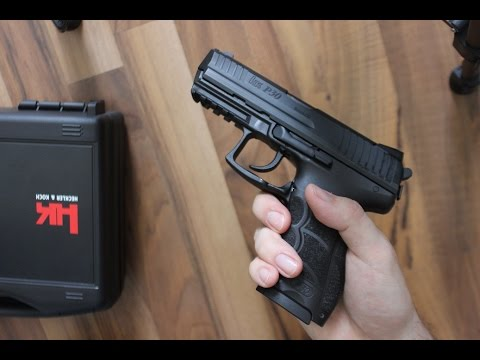 Unboxing of HK P30 V3 in 9mm HD