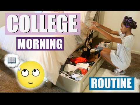 COLLEGE MORNING ROUTINE 2016