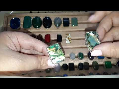 Кольца из Натуральных камней Серебро.