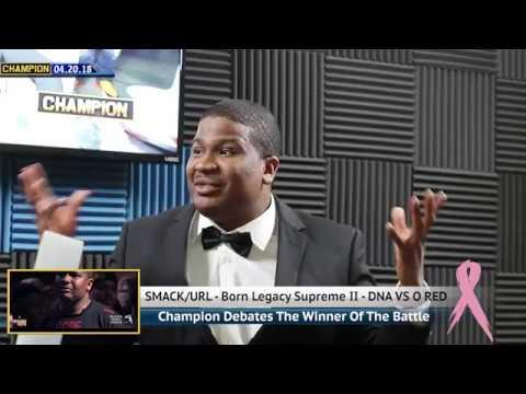 CHAMPION | DNA TALKS O RED BATTLE AND RECAPS CORTEZ VS O RED