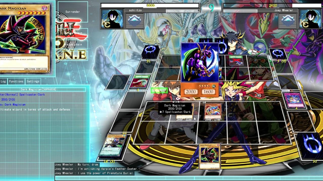 Yu-Gi-Oh fighting joey