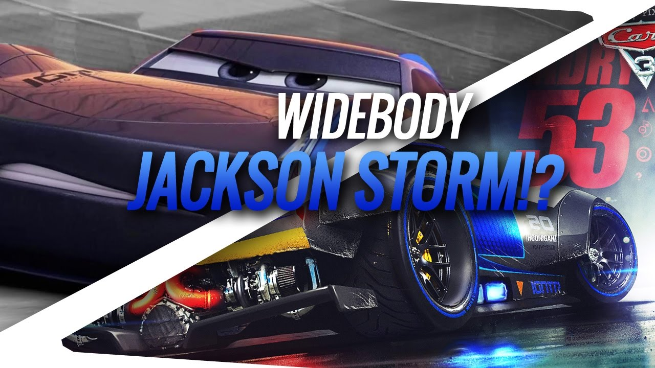 Making Jackson Super Storm Timelapse Fanart Adry53 Youtube
