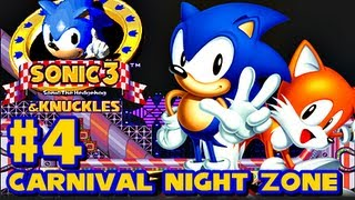 Sonic 3 and Knuckles - (1080p) Part 4 - Carnival Night Zone