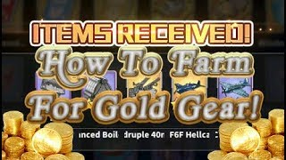Azur Lane Guide - How To Farm For Gold Gear Efficiently!