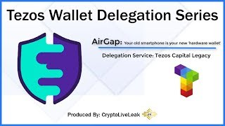 Tezos Wallet Delegation Series | AirGap: Your old smartphone is your new 'hardware wallet'