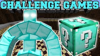 Minecraft: BLOCK GOLEM CHALLENGE GAMES - Lucky Block Mod - Modded Mini-Game thumbnail
