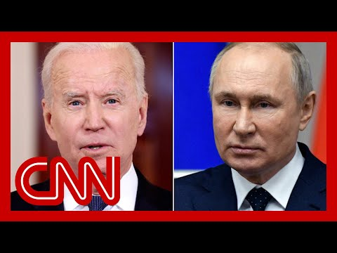 Joe Biden Explains How He'll Handle Putin Meeting