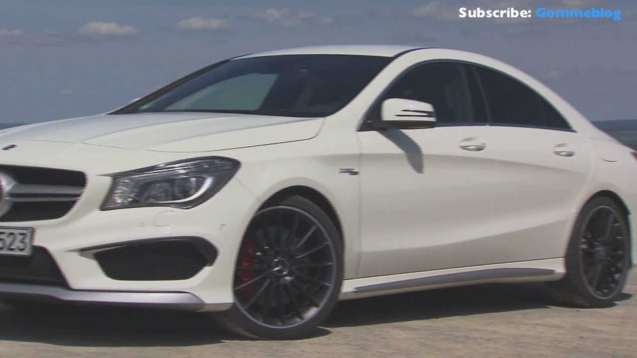Mercedes Cla 45 Cirrus White Exterior Amp Driving Youtube