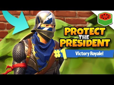 PROTECT THE PRESIDENT CHALLENGE! | Fortnite Battle Royale