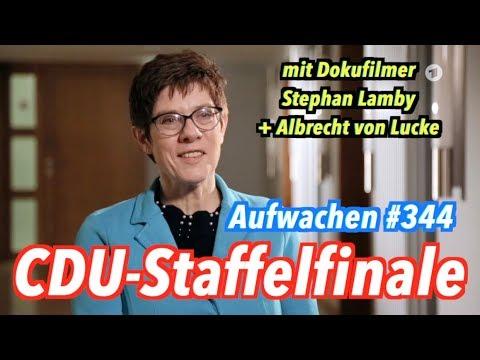 Aufwachen #344: Wer wird neuer CDU-Boss? (mit Stephan Lamby & Albrecht von Lucke)