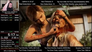 The Last of Us: Left Behind Speedrun World Record! (5:17.8) for Any% PS4
