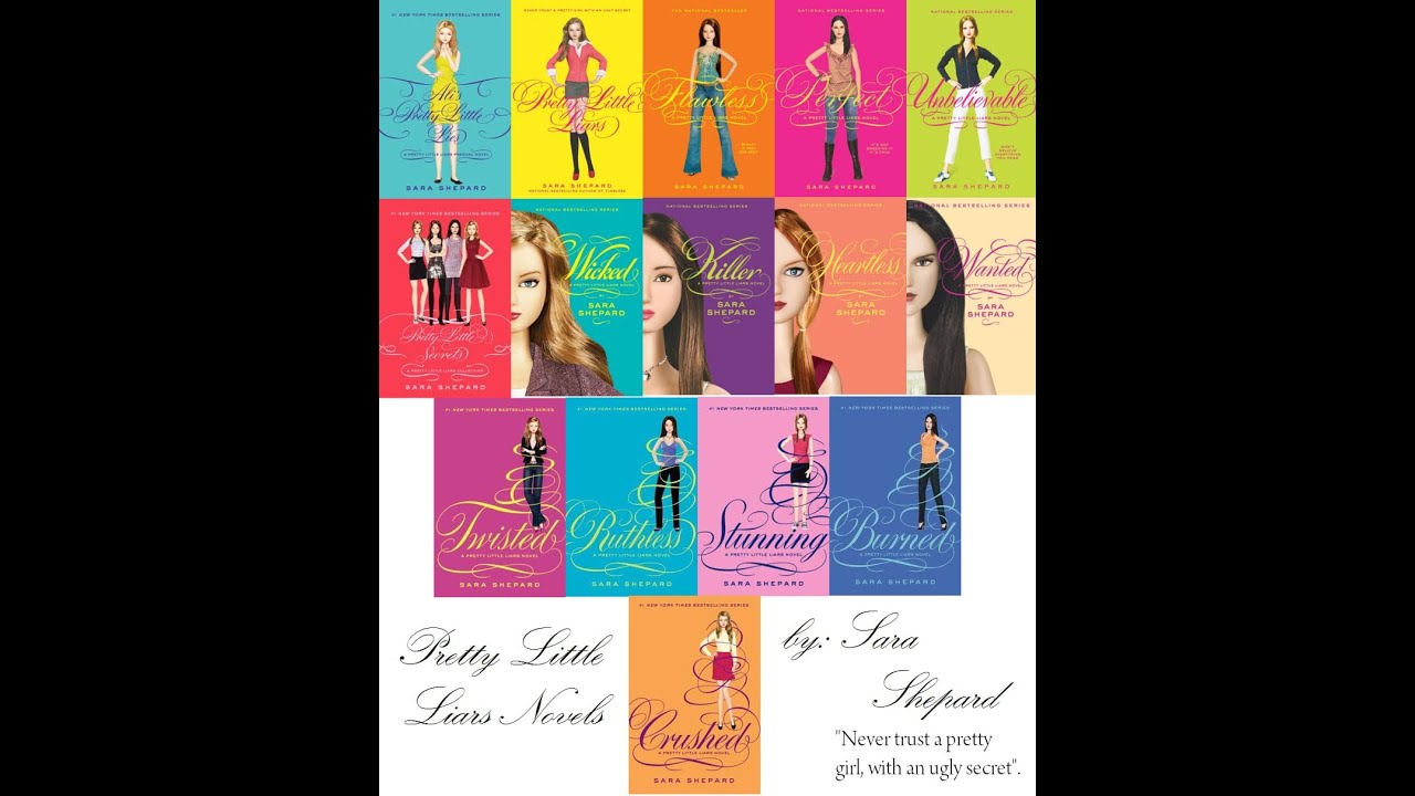 Pretty Little Liars Book Cover Dolls ~ Book talk pretty little liars series by sara shepard youtube