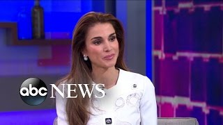 One-on-One With the Queen of Jordan