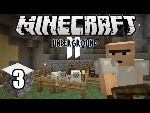 Minecraft Indonesia - Underground 2 : Rumah dan Kandang Baru! (3)