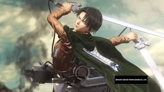 Attack on Titan Wings of Freedom Levi 99+Perfected Gear DLC Final Mission