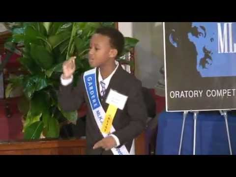 2013 Houston Winning Speech: 17th Annual Gardere MLK Jr. Oratory Competition -- Curtis Babers