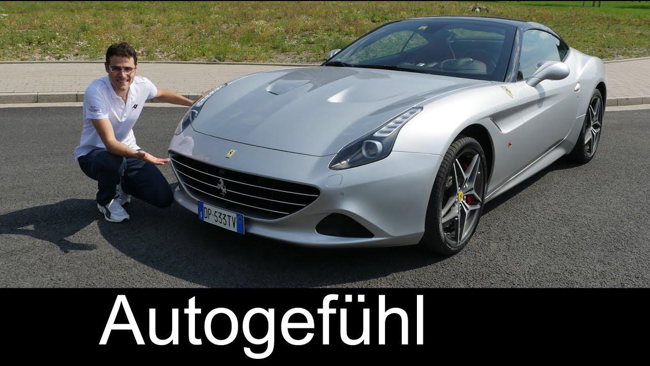 New Ferrari California T 2016 Full Review Test Driven V8 560 Hp Turbo Autogefühl Youtube
