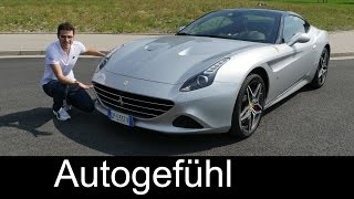 New Ferrari California T 2016 FULL REVIEW test driven V8 560 hp Turbo - Autogefühl