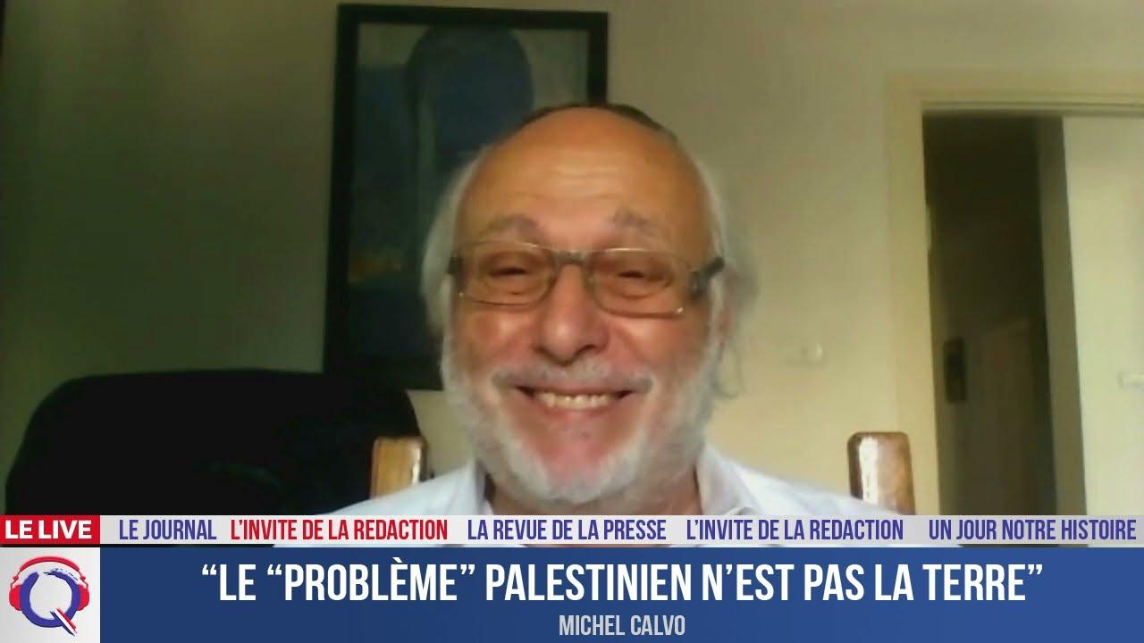 """""""Le """"problème"""" palestinien n'est pas la terre"""" - L'invité du 2 septembre 2021"""