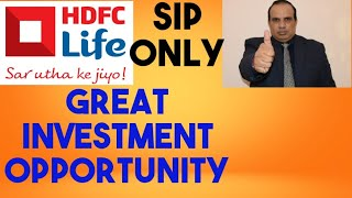 HDFC life : Great Investment opportunity  by CA Ravinder Vats
