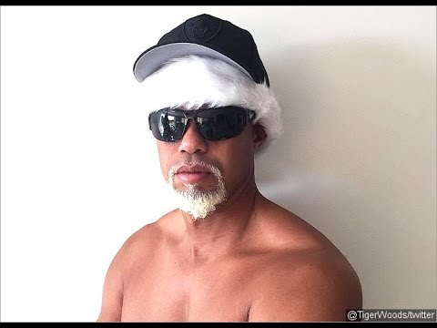 Tiger Woods Shirtless Mac Daddy Santa On Twitter - Lindsay Vonn Seen This?