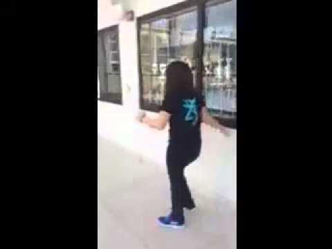 Madison walking - 14 years old - cerebellar ataxia - cerebellum hypoplasia - cerebral palsy