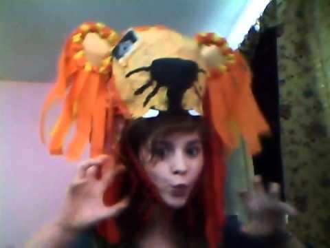 My Luna Lovegood Lion Head Dress Hat Video Two By ...