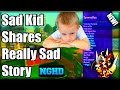 Black Ops 2 Sad Kid Tells A Really SAD Story! And Uses Jiggy Mod Menu! (Emotional Video!)