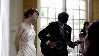 Feels Like Home (Chantal Kreviazuk or Randy Newman) - Samuel and Catherine Wedding Cover