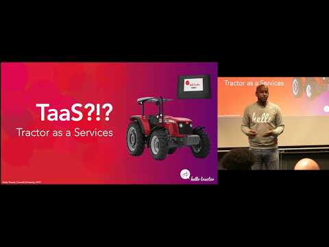 "Jehiel Oliver - ""IoT: The Internet of Tractors"""