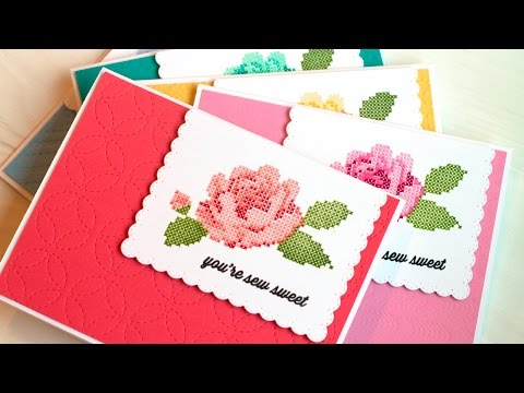 Faux Colored Embossing