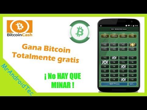 Aplicación Para Obtener Bitcoin Cash Sin Tener Que Minar - Gana 100000 Satoshis Por Semana.