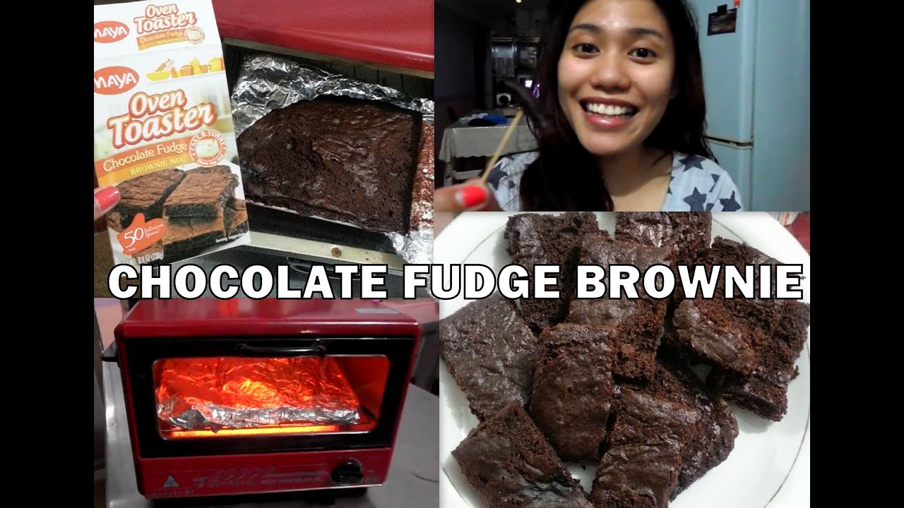 Make chocolate fudge brownies using oven toaster youtube forumfinder Images