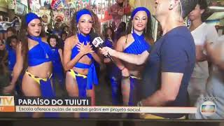 Rio Projekt Rio Carnaval 2018 - Globo TV feature on Paraiso do Tuiuti - Brazilian Dancers