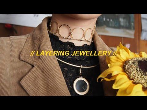 how i layer jewellery