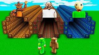 DO NOT GO INSIDE THE WRONG TUNNEL IN MINECRAFT!