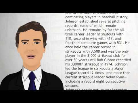Walter Johnson - Wiki Videos