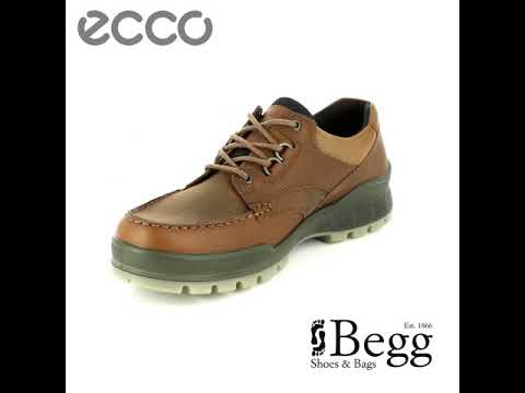 c40a249bb202 ECCO Track 25 GORE-TEX 831714-52600 Brown casual shoes - YouTube