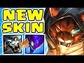 New guardian of the sands rengar spotlight  this skin is insane  the hunt is on