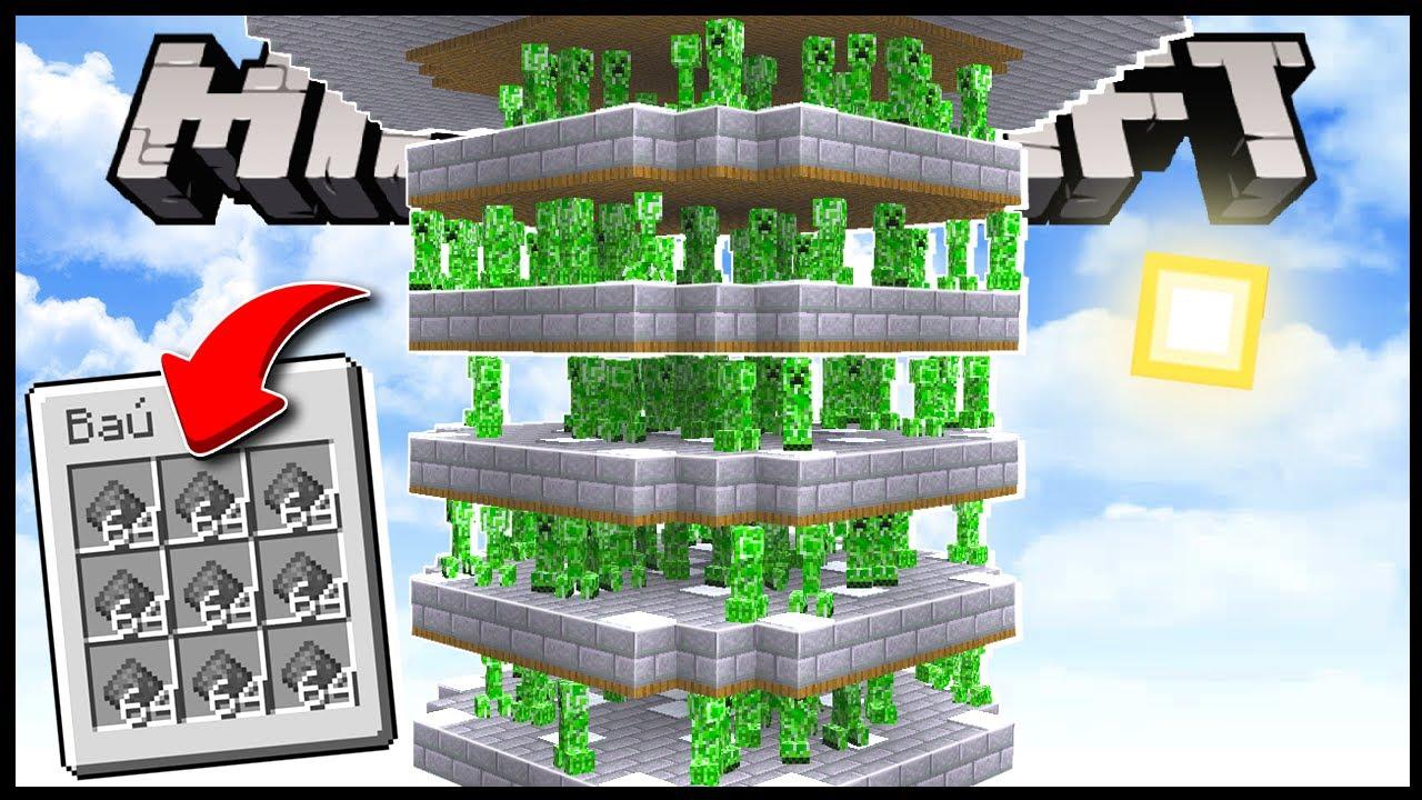 Download COMO FAZER UMA FARM DE CREEPER!! MUITO SIMPLES!! - Minecraft Irmandade #35