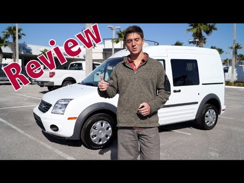 2013 Ford Transit Connect Review >> 2013 Ford Transit Connect In Depth Review Youtube