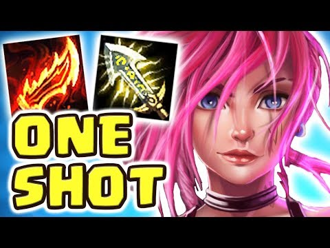 ONE AUTO ATTACK ONE KILL ?! NEW FULL AD VI JUNGLE | ARE THESE VI BUFFS TOO MUCH?! NIGHTBLUE3 2.0